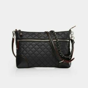 MZ WALLACE Crosby Quilted Oxford Crossbody Bag